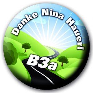 Danke Nina Hauer - B3a